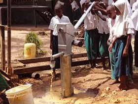 A well for Mwamanga Primary School in Kenya